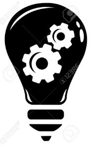 gear lightning bulb